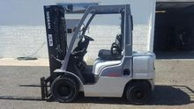 2009 Nissan MP1F2A25PV Forklift