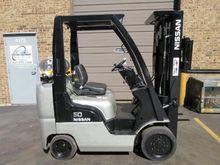2011 Nissan CF50LP Forklift