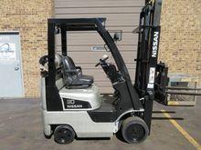2009 Nissan CF30LP Forklift