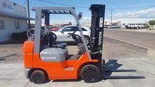 2005 Toyota 7FGCU25 Forklift