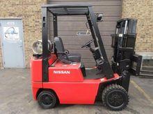 1998 Nissan CPJ02A20PV Forklift