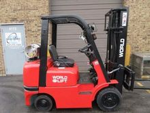 2000 World Lift WFG50C Forklift