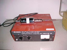 Branson Sonifier cell disrupter