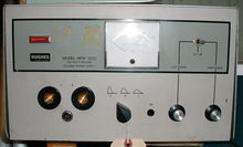 Hughes HRW-100C capacitor disch