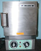 "Blue M OV-8A 8 x 8 x 8"" inside,"