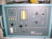 CSI sulfur analyzer SA-260