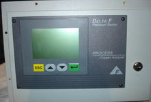 Delta F oxygen analyzer Platinu
