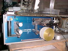 Komax  27 cable drawing machine