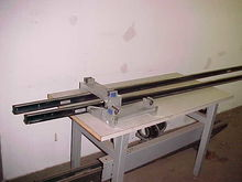 pair of LinTech 3/4 rails with