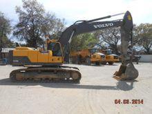 2013 Volvo EC220DL Track excava