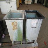 2 pcs. GRP rinsing tubs