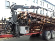 1999 Patruna 17RM timber traile