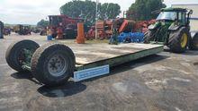 Tieflader low loader trailer NU