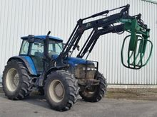 1999 NEW HOLLAND 8360 + Frontla