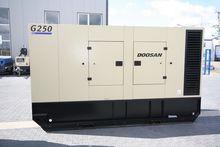 2013 Doosan G 250 power generat