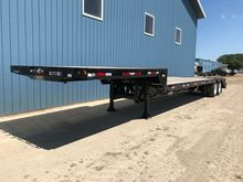 2018 MAURER 45' DROP DECK