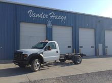 2008 FORD F550SD PICKUP