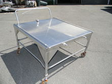 Stainless Steel Table on Wheel
