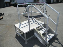 3 Step Metal Platform