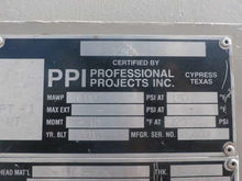 2012 PPI 865-PV1001 Vessels