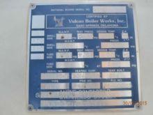 1996 VULCAN BOILER 795-2402C He