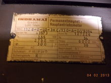 Indramat Permanent Magnet Main