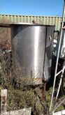 250 gal. Stainless Steel Tank