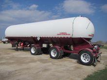 1974 Lubbock Tri-Axle Tanker Tr