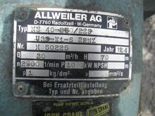 Centrifugal Pumps ALLWIELER NS4