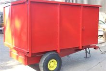 3 TON HIGH SIDED TRAILER