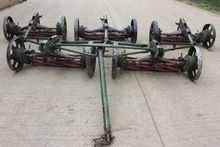 RANSOME FIVE ROW GANG MOWERS