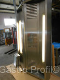 STAINLESS STEEL EXHAUST HOOD IS