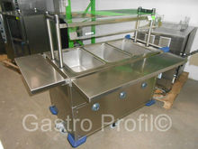 FOOD SERVING CART SAG BLANCO 3