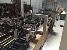 1980 Folding Carton Gluer Bobst