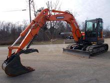 2014 Doosan DX85R-3 Track excav
