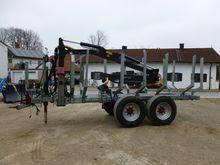 2012 Fliegl 12t mit Kran 6,5m A