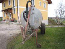 Used Huber Güllefass