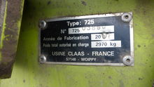 Used 2001 Claas Roll