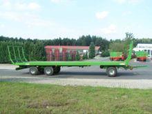 2016 Pronar Ballenwagen TO 26,