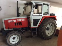 Used Steyr 8070 in E