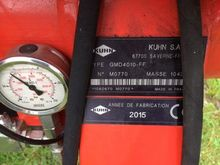 Used 2015 Kuhn GMD 4