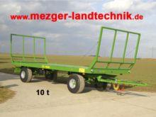 2017 Pronar Ballenwagen TO 22
