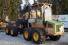 Timberjack ÖSA 250 Holzrückezug