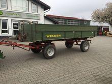 1980 Welger FK90 Zweiachs-Zweis