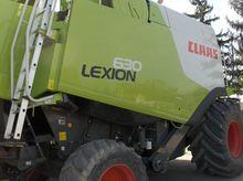 2011 Claas Lexion 630