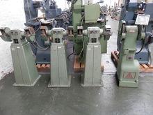 Assortment of pedestal grinders