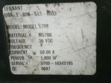 2012 TENNANT 5700