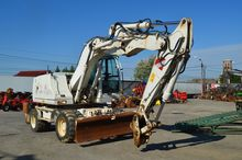 Wheel Excavator Case WX 145