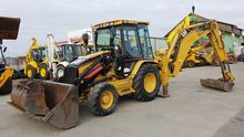 Caterpillar 432D backhoe