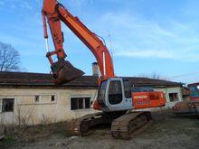 Hitachi EX300 tracked excavator